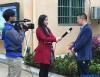 李武平律师接受海南电视台采访